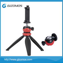 Gizomos Universal Flexible Compact Mini Tripod Stand & Smartphone holder for Smartphone and Digital Camera Accessories