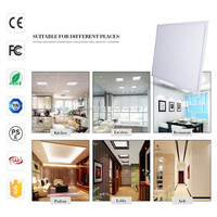 Long life span panel light 600x600 high quality ceiling led lights office