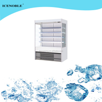 Automatic defrost fan cooling used supermarket refrigerator and freezer