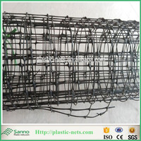 "1"" Square Black Strong Mesh Garden Netting Protect Fruits and Vegetables"