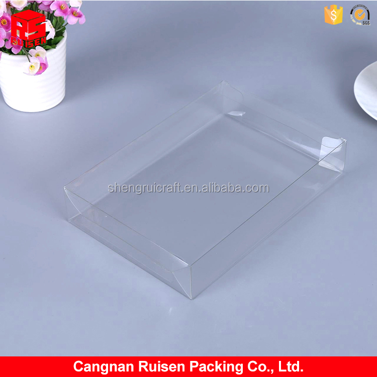 Best selling clear cuboid plastic packaging PET box