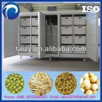 2014 high efficiency bean sprouting machine / mung bean sprout growing machine/bean sprouter