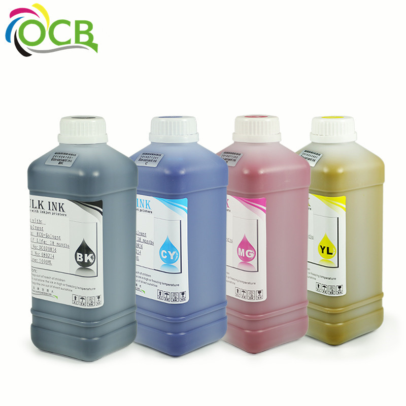 Ocbestjet Eco Solvent Ink For Mimaki 3042 gp-604 ss21 swj-320 Printer Solvent-Based Ink