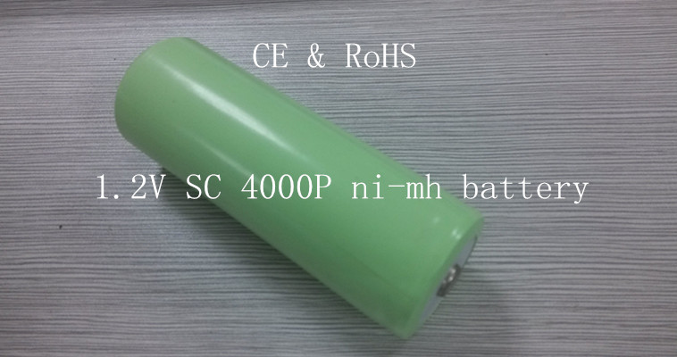 1.2V SC4000P Ni-MH battery cell& spot welding, leads, connector