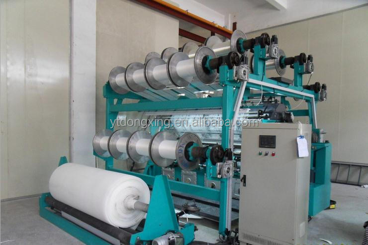 138 inch Warp Knitted Polyester Mesh Fabric Knitting Machine