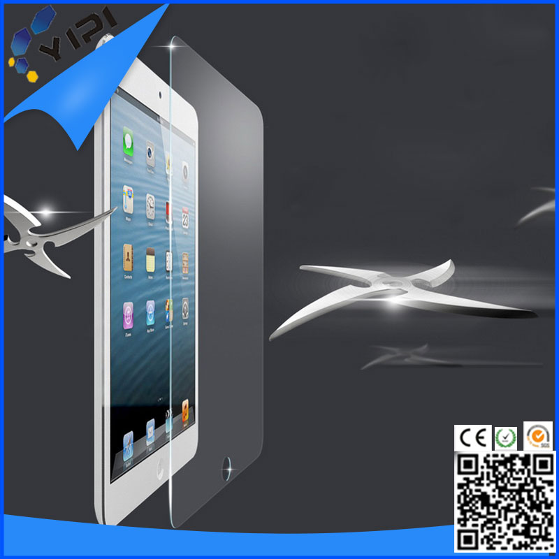 For iPad 5 / iPad Air Premium Glass Screen Protector Film 9H, Tempered Screen Glass Protector