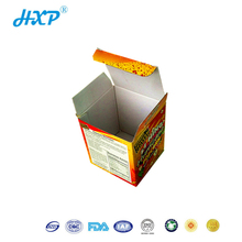 packaging box 3 layer B-Flute color box for Toys accessories packaging