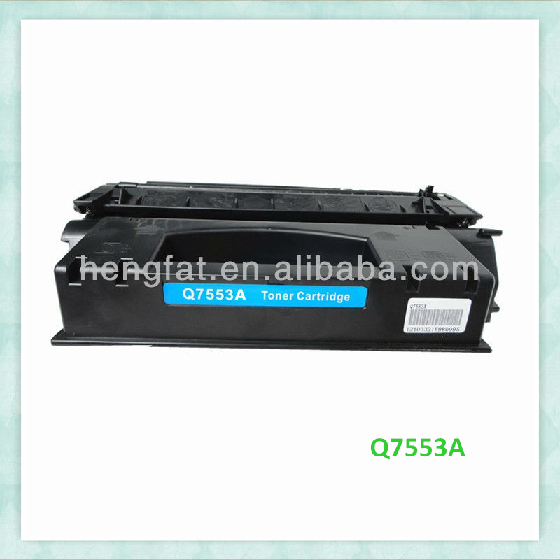 Compatible hp q7553 toner cartridge 11 years industry experience factory