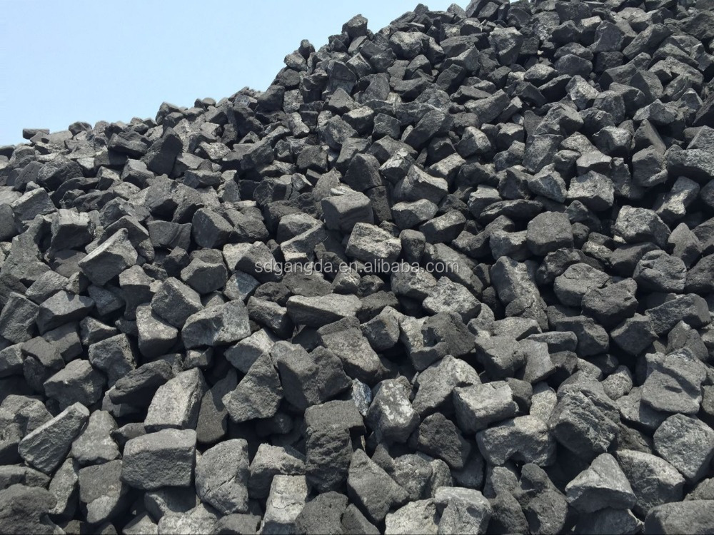 The Smelting Fuel Carbon Anode Scrap FC 98% for Foundry Coke Replacement 80-150MM