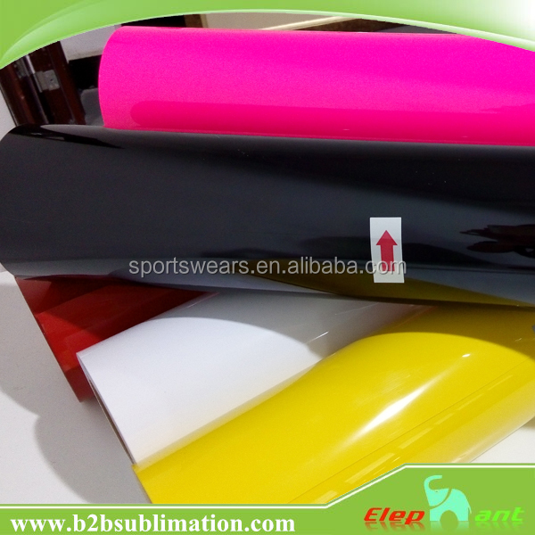 Heat Transfer Textile Vinyl Pvc Flock Vinyl Sticker Paper Roll