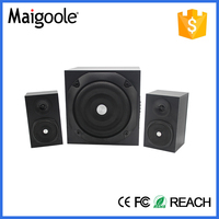 The heavy bass 20w subwoofer 2.1 speaker system sale best selling in Africa