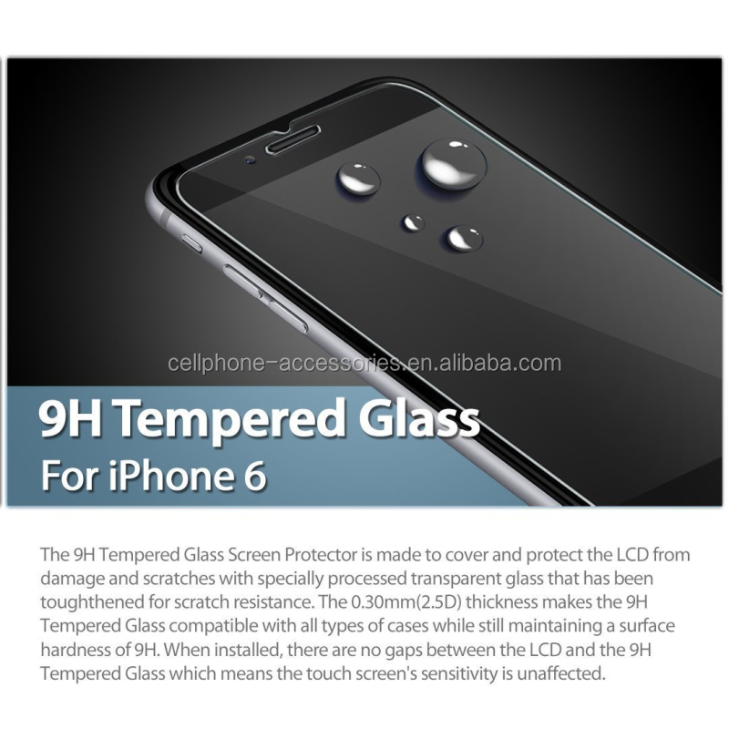 High transparant 0.33mm ultra thin anti-fingerprint tempered glass screen protector for laptop 7 inch tablet accept Paypal