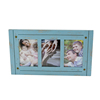 lovely fashion design blue color love theme wooden multiple photo frame