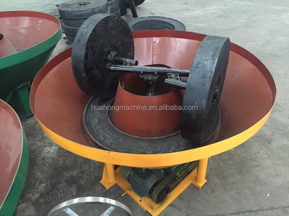 low investment Two Rollers Wet Pan Mill for Sudan gold mining plant