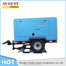 High quality airman diesel portable air compressor