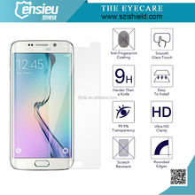 2015hot sales screen protector For Samsung S6 edge
