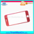 2017 New Product 3d Curved Tempered Glass For Iphone 7 Red Colored 9h Soft Edge Tempered Glass