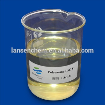liquid cationic polymers/polyethylene polyamine for dissolved air flotation