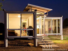 small prefab modern steel house design