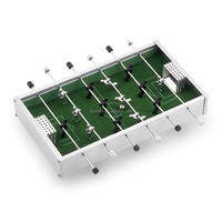 Desktop Foosball,Tabletop football,Mini aluminum football table