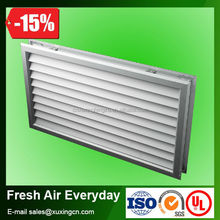 high quality aluminum screen decorative ventilation door grilles