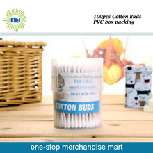 Promotional Plastic Stick Make Up Cotton Buds