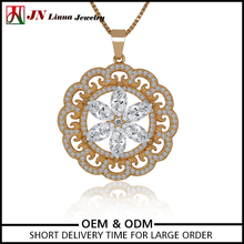Women gold plated necklace new product distributor wanted cheap price jewelry necklace