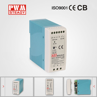 60W 24v 2.5A led driver, Single Output DIN Rail Power Supply,MDR-60-24 switch power supply
