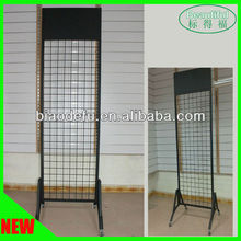 Powder coating Black Gridwall Display Rack