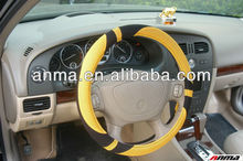 cool PVC car steering wheel cover