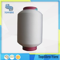 single polyester spandex covered yarn with SCY