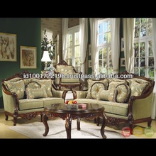 French Style Antique Living Room Sofa Set NFLS30