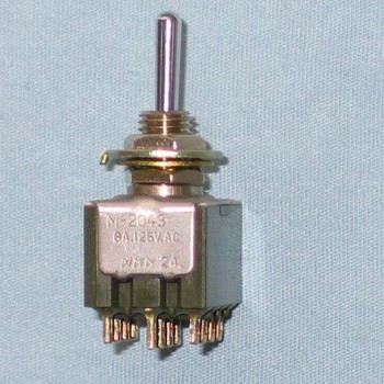 NKK Switches M-2012 toggle switch M2012SS4W01 Miniature Toggle Switch
