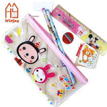 Back to school funny girl stationery set
