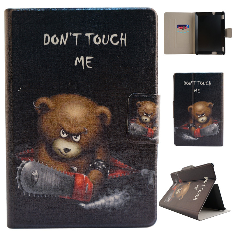 Magnetic Pairs Eiffel Tower Folio PU Leather 7 inch Tablet Cases Covers for Amazon Kindle Fire HDX7 for Paperwhite 2