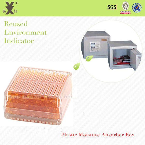 Mini Devices Humidity Indicated Orange Silica Gel Adsorbent
