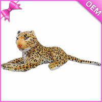 Lifelike Different Designs Dangerous Plush Animal, Animal Plush Toy, Plush Toy Leopard