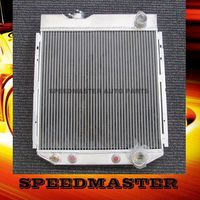 cheap die cast aluminium auto radiator for FORD MUSTANG V8 1964-1966