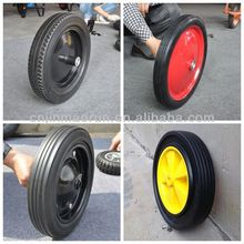 Heavy Duty Solid Rubber Wheel