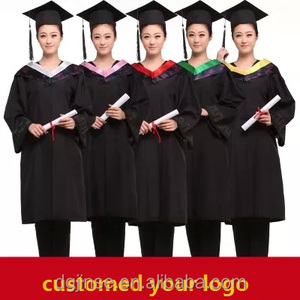 The new wholesale custom classical college graduation gown