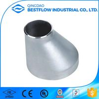 Advanced production technology top grade forging sch40 sch80 stainless steel butt welded pipe fitting