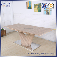 Latest wooden extensive dining table designs