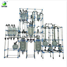 Cheap Price 2018 New 100L Chemical Glass Reactor System for Sale