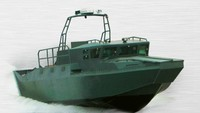 2013High speed aluminium patrol boat