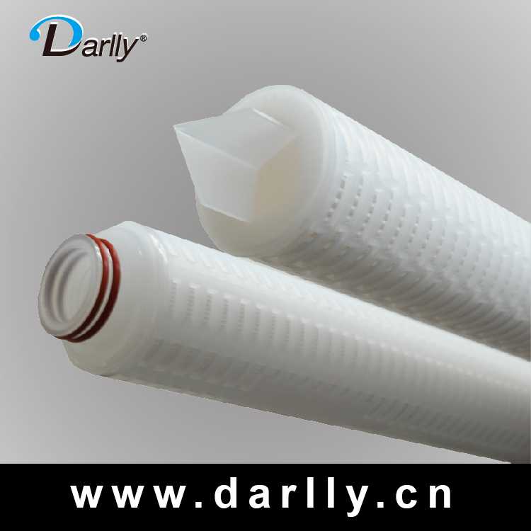 micron pleated alkaline water filter cartridge pleated filter water