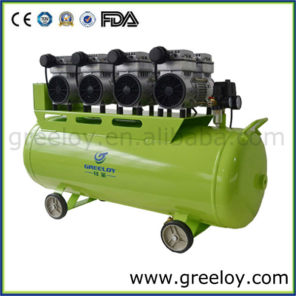 Larger Size Dental Air Compressor with High Air Flow 620L/min at 0 bar for Tooth Whitening