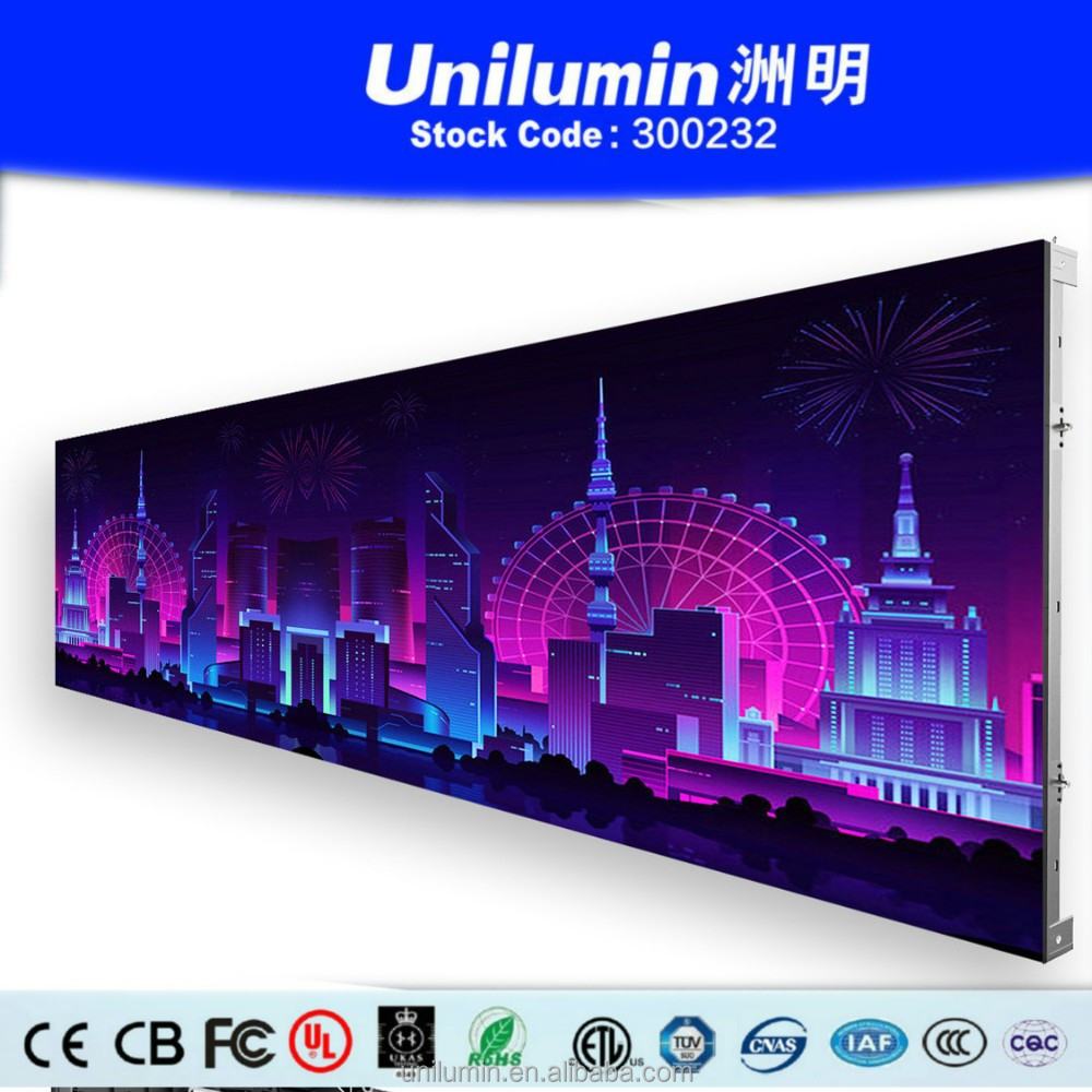 P3.9 curved / Curve indoor led screen / led display board for control room