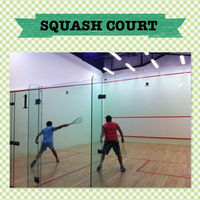 Squash Court/entertainment products