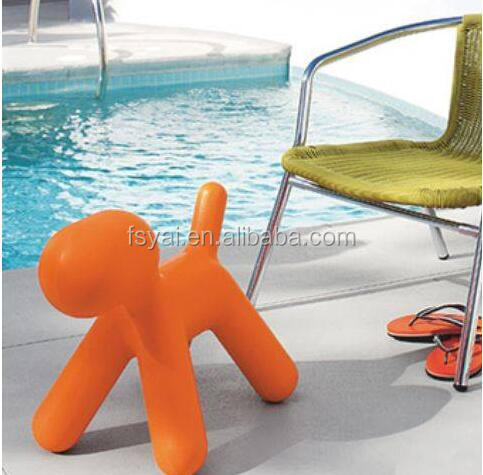 Wholesale modern leisure Eero Aarnio replica lovely kids dog shaped fiberglass classic magis puppy chair