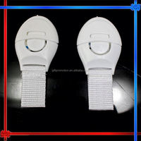 MW064 plastic drawer lock for baby security / plastic lock